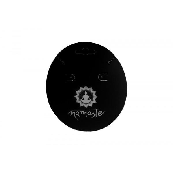 Cartela Personalizada para Brincos e Pulseiras, Papel Couchê 300g, Medida 90 x 100 mm, Biju Oval