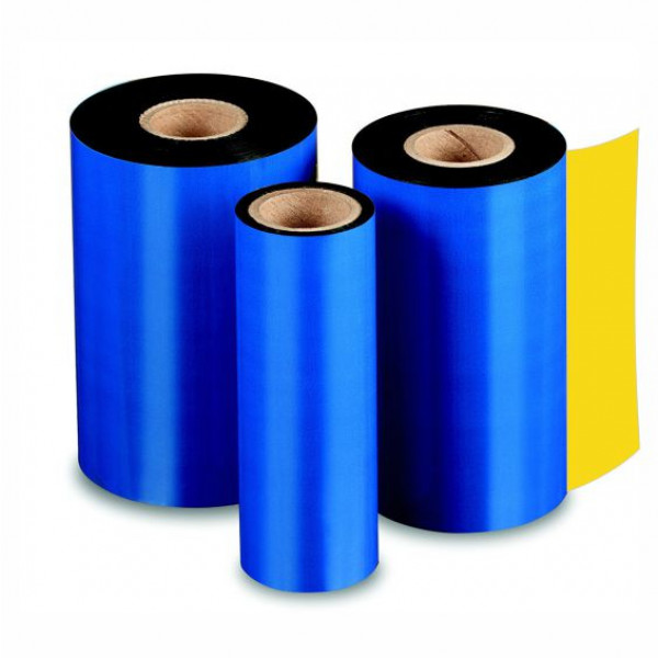 Ribbon de Cera Preto para Impressoras Térmicas, 110 mm de largura